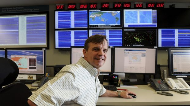 In the know: Dr Phil Cummins, professor of natural hazards at ANU.