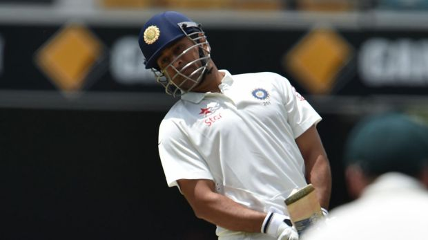 MS Dhoni set the tone: Twice before he had scored, he took balls thudding into his body, invitations to the bowlers to ...