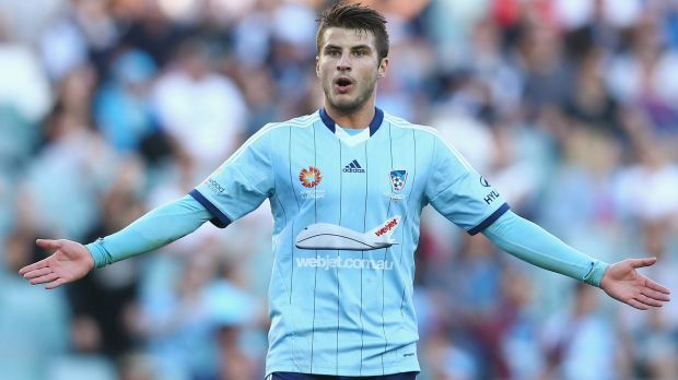 Final countdown: Now is the time for Asian Cup hopefuls such as Sydney FC's Terry Antonis to deliver in the A-League.
