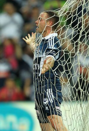 Net gain: Leigh Broxham even bobs up to score.