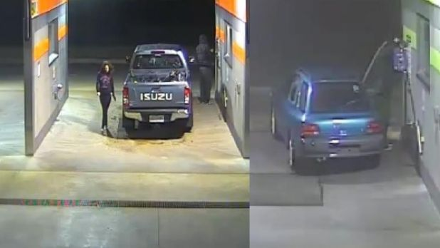 Double trouble: coin thieves clean up at the Chirnside Park car wash.