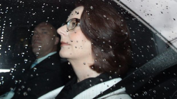 """No grounds for prosecuting"": Former prime minister Julie Gillard has escaped an adverse finding."