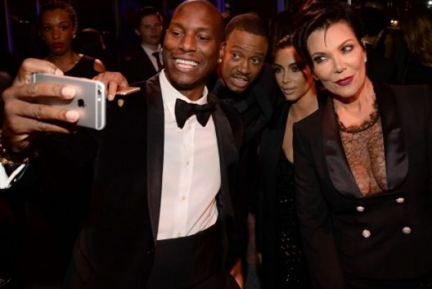 ... oh, and an honourable worst-dressed mention has to go to Kris Jenner's lacey cleavage. The face on the lady in the ...