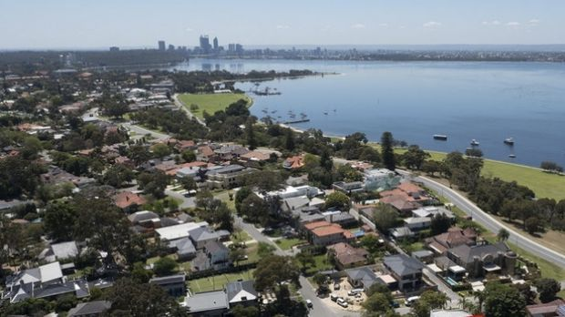 Perth's leafy western suburbs are rapidly losing their tree canopy cover.