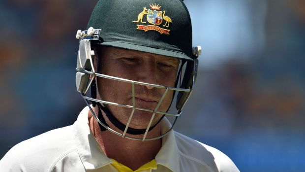 Run drought: But Brad Haddin is in no danger of being dropped, says Steve Smith.
