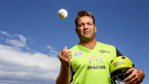 Thunderstruck: Jacques Kallis will turn in out in the lime green of the western Sydney franchise.