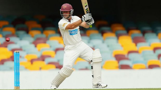 Queensland's Joe Burns has been called into the squad for the Boxing Day Test at the MCG to replace Mitchell Marsh.