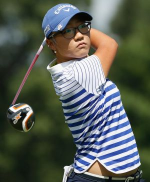 Big deal: Lydia Ko has been described as the next star capable of transcending golf.