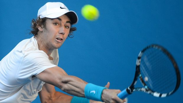 See you in Melbourne: Jordan Thompson will play the 2015 Australian Open.