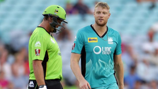 Battle of the international all-rounders in the Big Bash.