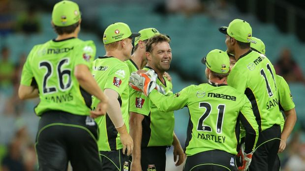 The Sydney Thunder have won by 56 runs against the Brisbane Heat. Jacques Kallis Big Bash debut was a memorable one for ...