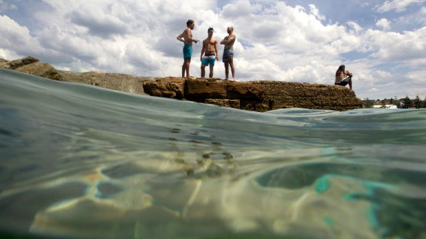 Sydneysiders can expect sunshine and temperatures of 28 degrees on Christmas Day - good enough to enjoy a swim at Giles ...