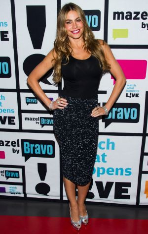 Fitted: Sofia Vergara is never seen wearing something loose.