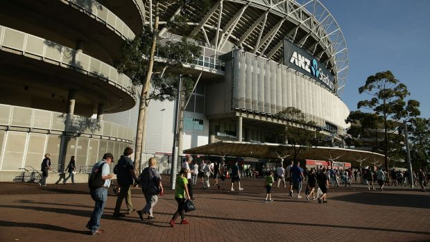 ANZ Stadium: A British national was evicted from the Homebush venue for illegal betting during the Sydney ...