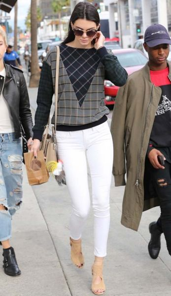 Kendall Jenner is seen on December 17, 2014 in Los Angeles, California.