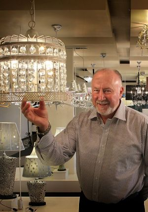 Market darling: Beacon Lighting chairman Ian Robinson says full-year earnings could be close to $30 million.