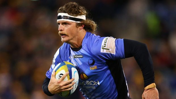 On loan: Nick Cummins will be returning to the Western Force.