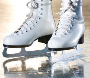 Melting the ice: A pair of iceskates could come in handy for a dorky date.