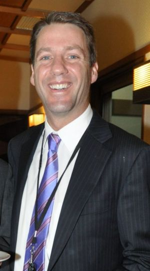 Mark Simkin at a function in 2012.