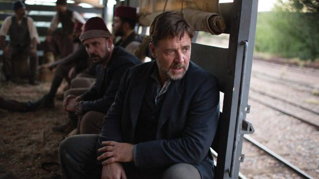 Russell Crowe (pictured here in The Water Diviner) has come under fire for sexist comments this week.