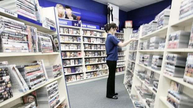 The DVD store: a victim of disruption.