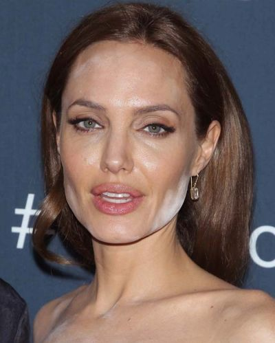 Unfortunately for Angelina Jolie, her most memorable beauty moment was her face powder mishap at the premier for <i>The ...