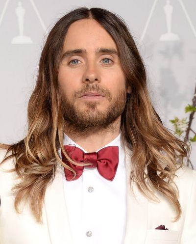 Not to leave the blokes out, Jared Leto started a trend with his wavy, balayaged locks at the Oscars.