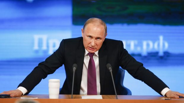 Putin's Russia forces its big exporters to help stop the ruble's slide.