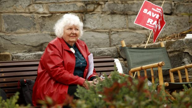 Joan Dawson from Save Our Rail had a win in court on Wednesday.