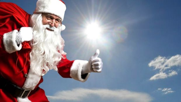 Christmas day weather is set to be almost perfect in Brisbane.