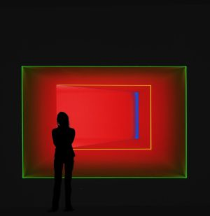 The James Turrell: Retrospective exhibit is one of the many events on around town over the festive period.