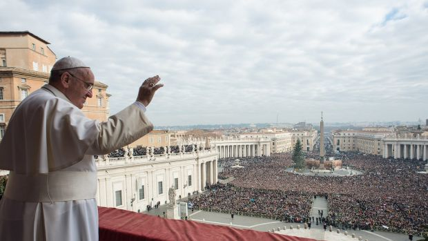 Pope Francis has said that if a political solution with the extremists can't be found, force would be an option.
