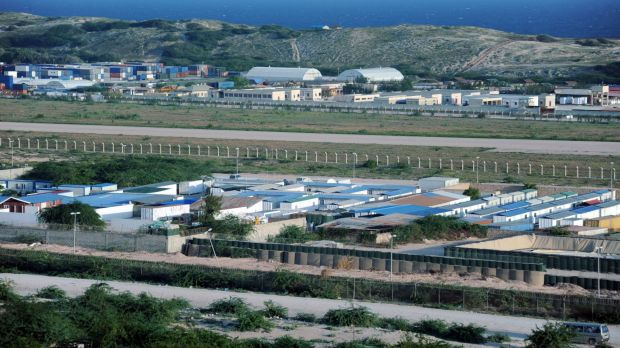 The African Union headquarters, located within the high-security compound of Mogadishu airport.