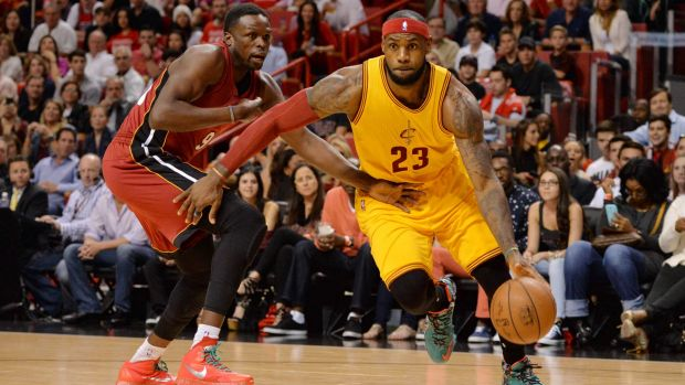 Back in Florida: LeBron James and the Cleveland Cavaliers were beaten 101-91 by the Heat in the superstar's return to ...