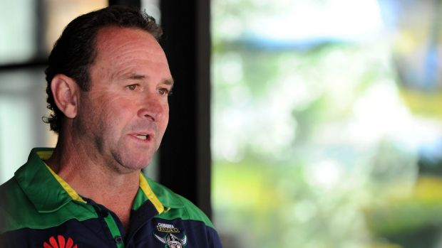 Juggling act: Raiders coach Ricky Stuart is yet to finalise his line-up for the Auckland Nines.