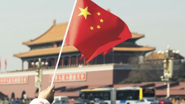 Red flags: The Chinese government is attempting to shift away from an economy driven by construction and investment in ...