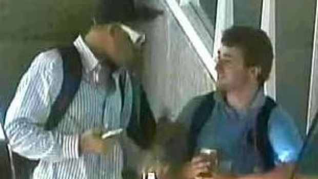 Police wish to speak with these men.