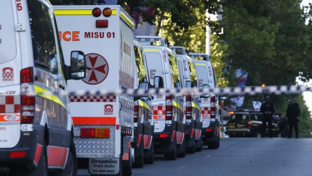 Terrorist threat: Experts have urged Sydneysiders to remain alert but relaxed despite warnings that a terrorist attack ...