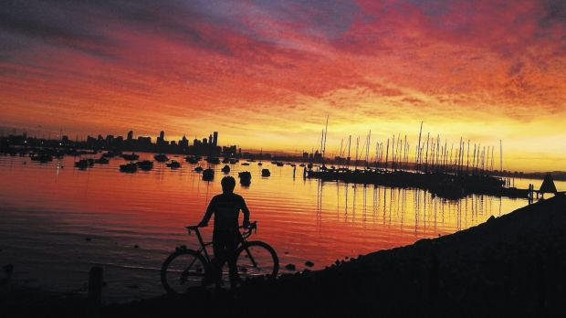 Cycle: Australia – and the world – is warming up.