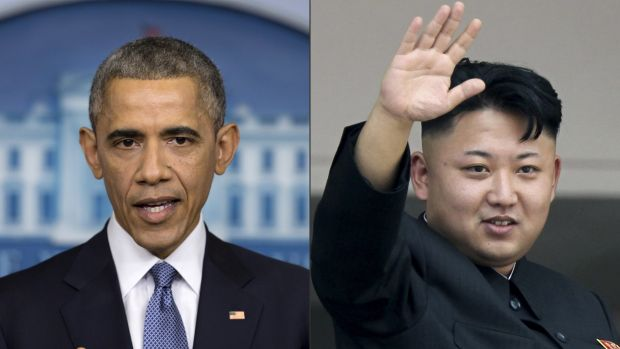 Great game: US President Barack Obama and North Korean dictator Kim Jong-un are at the heart of a cyber conflict.