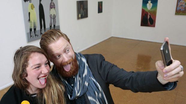 """Selfies"" allowed: The National Gallery of Australia has lifted its blanket ban on photography."
