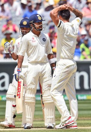 It was Virat Kohli and rising star Ajinkya Rahane who walked the walk by compiling authoritive centuries.