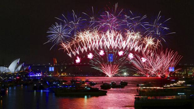 About 1.6 million people are expected to crowd the Sydney Harbour foreshore for New Year's Eve fireworks.