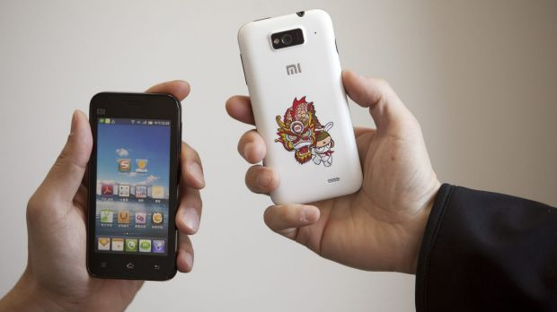 Xiaomi M1 smart phones running the MIUI operating system.