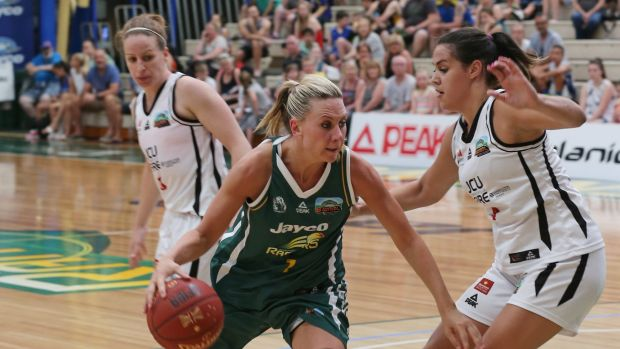 Penny Taylor in action.