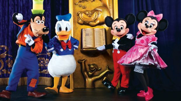 Disney Live: The show brings together <i>Cinderella</i>, <i>Beauty and the Beast</i> and <em>Snow White and the Seven ...