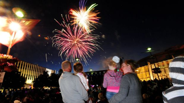 It will still be nice and warm when the fireworks are let off on New Year's Eve.