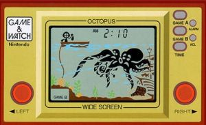 Soon to be a collector's item: A Nintendo Game & Watch.