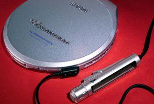 De rigueur for gym bunnies: A Sony Walkman.