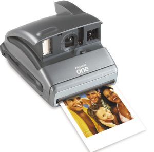 Right on trend: A Polaroid in 2003.
